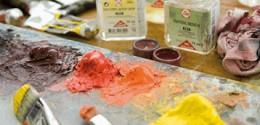 Médiums et additifs pour peintures à l'huile