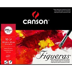 BLOC FIGUERAS - 10 FEUILLES - CANSON