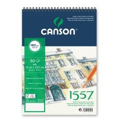 ALBUM DESSIN 1557 SPIRALE  180 g/m² - CANSON  A4