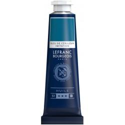Huile Fine Lefranc Bourgeois - 40ml -Bleu céruléum imitation