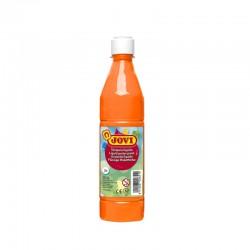 GOUACHE LIQUIDE FLACON 500 ML - JOVI - Orange