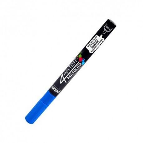4Artist Marker Pébéo - pointe ronde 2mm - Bleu foncé