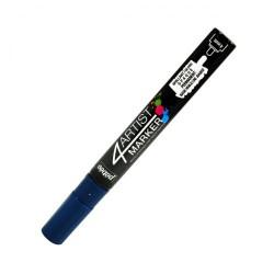 4Artist Marker Pébéo - pointe ronde 4mm - Bleu profond