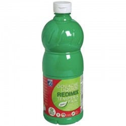 Gouache liquide Lefranc Bourgeois 500ml - Vert franc