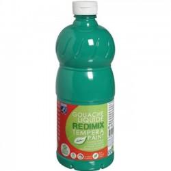 Gouache liquide Lefranc Bourgeois 1L - Vert émraude