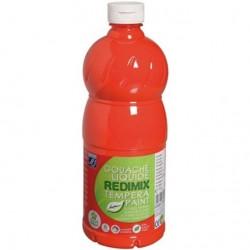 Gouache liquide Lefranc Bourgeois 1L - Vermillon