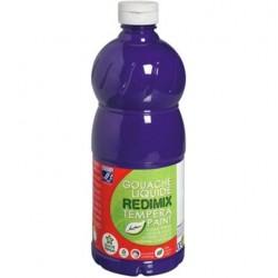 Gouache liquide Lefranc Bourgeois 1L - Violet