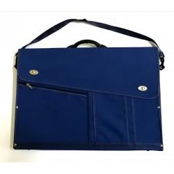 Malette Raisin - Porte Doc avec poignée Plastique- Bleu marine