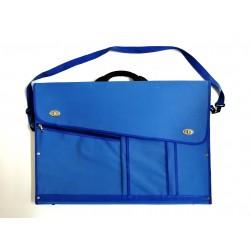 Malette Raisin - Porte Doc avec poignée Plastique- Bleu Ciel