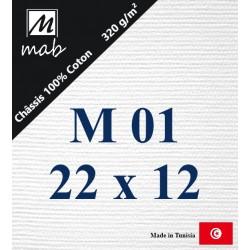 Châssis Entoilé Format Marine M01 : 22x12