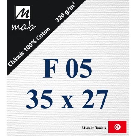 Châssis Entoilé Format : F5   35x24