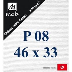Châssis Entoilé Format Paysage P08 : 46x33