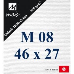Châssis Entoilé Format Marine M08 : 46x27