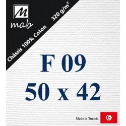 Châssis Entoilé Format Figure F09 : 50x42