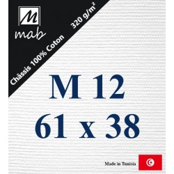 Châssis Entoilé Format Marine M12 : 61x38