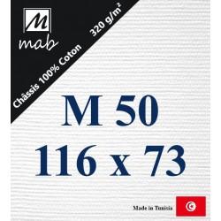 Châssis Entoilé Format Marine M50 : 116x73
