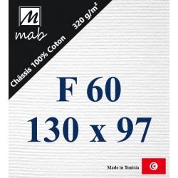 Châssis Entoilé Format : F60   130x97