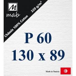 Châssis Entoilé Format Paysage P60 : 130x89