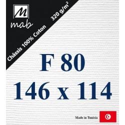 Châssis Entoilé Format : F80   146x114