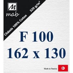 Châssis Entoilé Format : F100   162x130