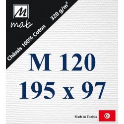 Châssis Entoilé Format Marine M120 : 195x97