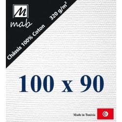 Châssis Entoilé Format 100x90