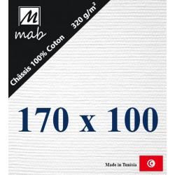 Châssis Entoilé Format 170x100