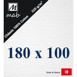 Châssis Entoilé Format 180x100