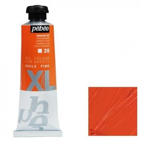Peinture à l'huile Fine Studio XL - 37ml - ORANGE VIF