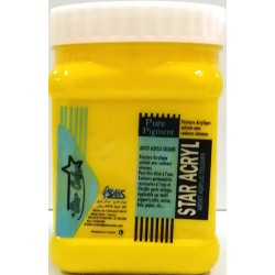 Acrylique Scolaire Star Color - 500 ml - Jaune