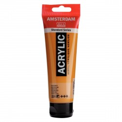 ACRYLIQUE OCRE D'OR  120 ML