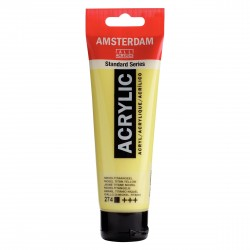 ACRYLIQUE JAUNE TITANE NICKEL 120 ML