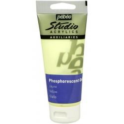 Gel phosphorescent Pébéo Studio - Jaune 100 ml