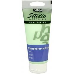 Gel phosphorescent Pébéo Studio - Vert 100 ml