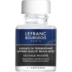 Essence de térébenthine affinée qualité beaux-arts 75 ml - Lefranc & Bourgeois