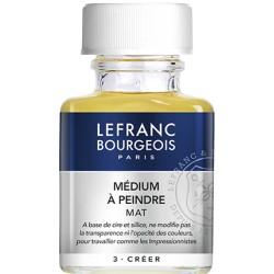 Médium à peindre Mat 75 ml - Lefranc & Bourgeois