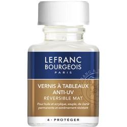 Vernis à tableaux anti-UV Mat 75 ml - Lefranc & Bourgeois