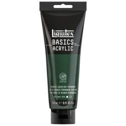 Acrylique Liquitex Basics - 118ml : teintes vertes de Hooker's Green