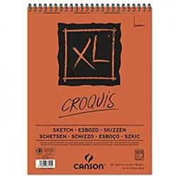 XL BLOC CROQUIS 90G/M² - CANSON-A3