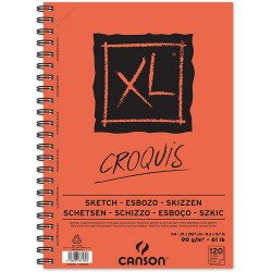 XL BLOC CROQUIS 90G/M² - CANSON-A4