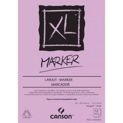 Bloc XL MARKER 70 g/m² - A3 42 x 29.7 cm - 100 F - Canson