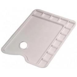 Palette rectangulaire en plastique  34 x 23.5 cm - Lefranc & Bourgeois