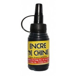Encre De Chine Flacon 28mL - Le coq