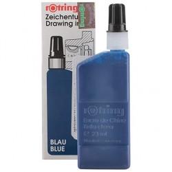 Flacon encre de chine Isographe  Bleu 23 ml - Rotring
