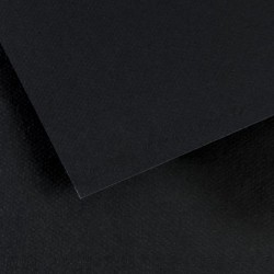 Feuille Mi-Teintes Noir 425 - A3 - 160g/m² - Canson