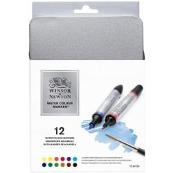 Set de 12 marqueurs aquarelle - Winsor & Newton