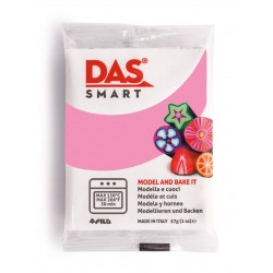 Pâte polymère  Rose 57g - DAS Smart