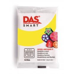 Pâte polymère Jaune Citron 57g - DAS Smart