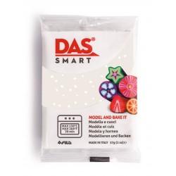 Pâte polymère Blanc Glitter 57g - DAS Smart