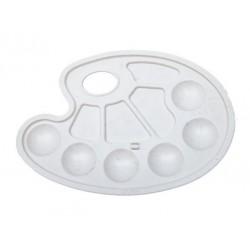 Palette Ovale Plastique